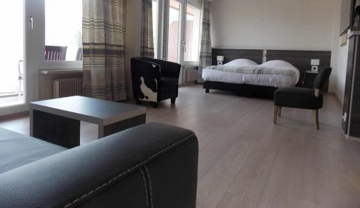Photo dans une Chambre type Suite de l'Hôtel Castel à Sion Centre-Ville